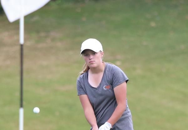 R Hansen will play in  IHSA Class 1A Girls Golf State Tournament