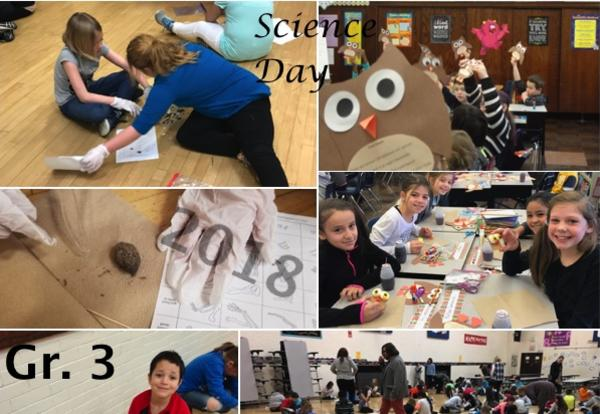 Irving 3rd Grade Celebrates Science Day
