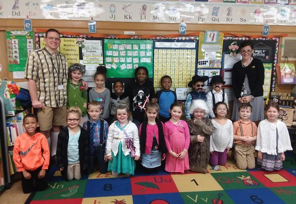 Belle Alexander Students Celebrate 100th Day of School