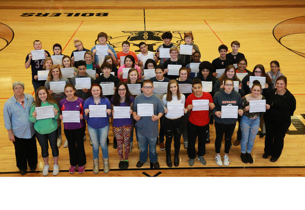 39 KHS Students earn Food Handler Certificates