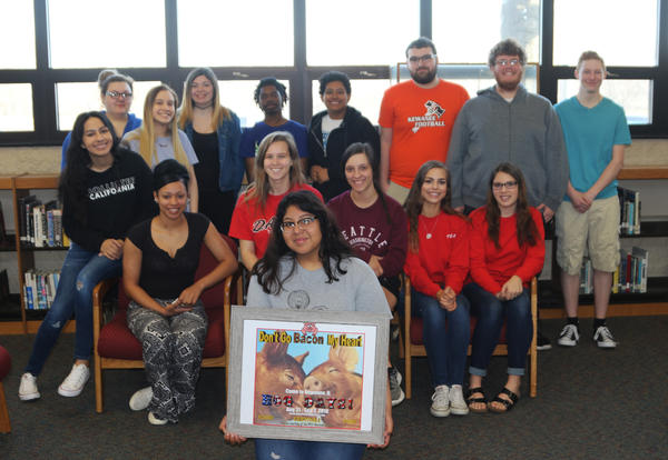 KHS Marketing Class becomes the first school to create a Hog Days tagline