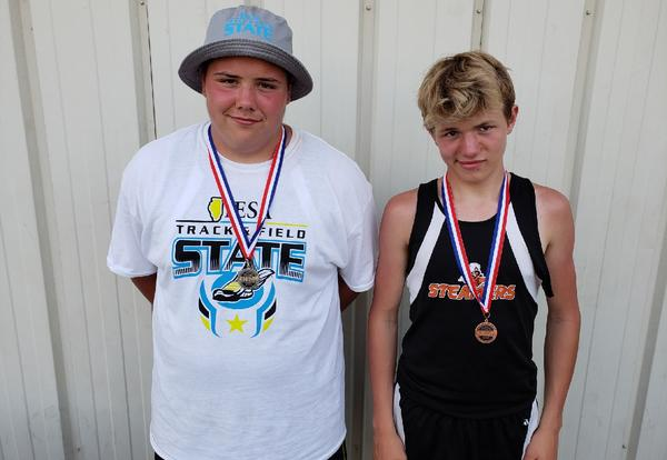 Two place at Boys IESA State Track Tournament