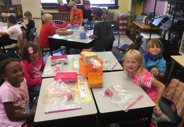 Irving Students Learn about Labor Day & Kewanee Hog Days