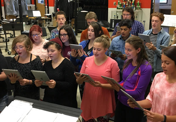 KHS Choir moves into computer age!