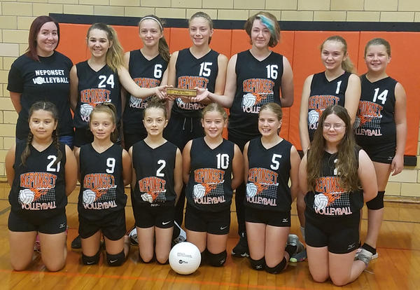 Neponset Volleyball Girls Earn Conference Camps!