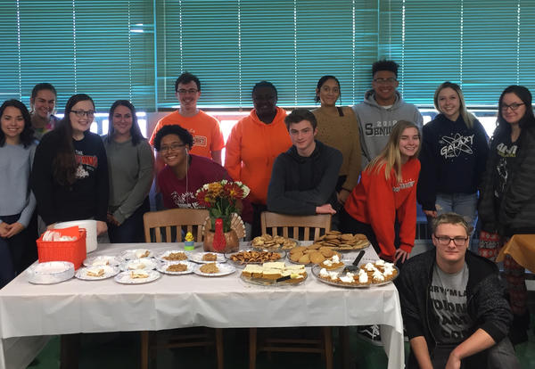 Adult Learning Class at KHS Thanksgiving Tea Time