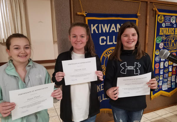 Photo of 3 Central Builders Club students