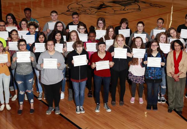 40 KHS Students earn Food Handlers Certificates