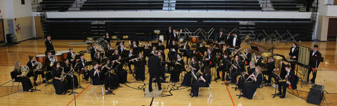 KHS Band students performing