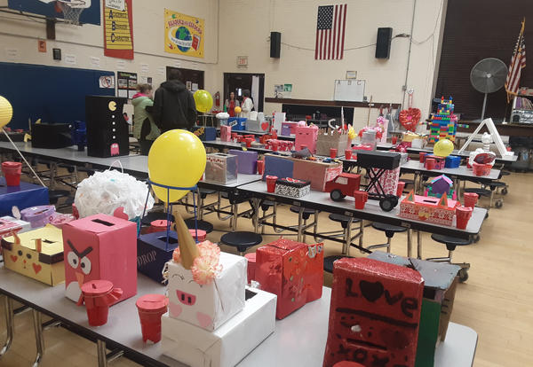 Irving Students Hold Annual Valentine Contest