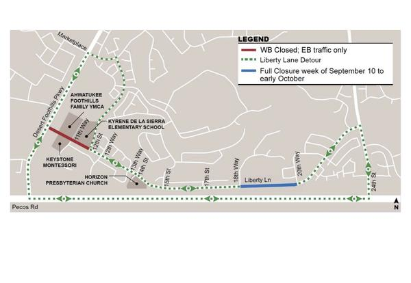 Liberty Lane Road Construction Update