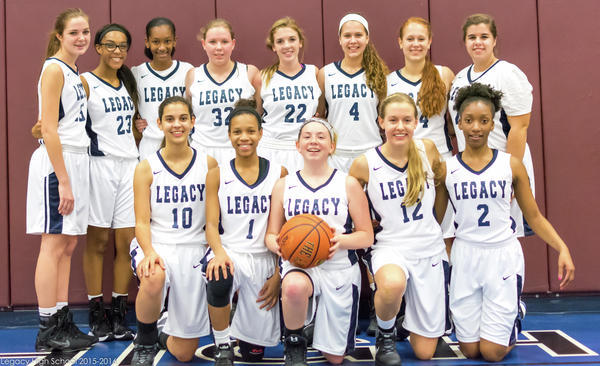 Varsity Girls Basketball Picture
