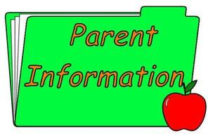 Folder with Parents Information title