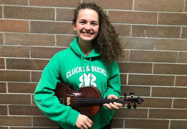 Audrey Schlichting Selected to All State Symphony Orchestra