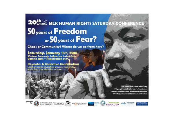 MLK Conference at WCC on Saturday Jan. 13
