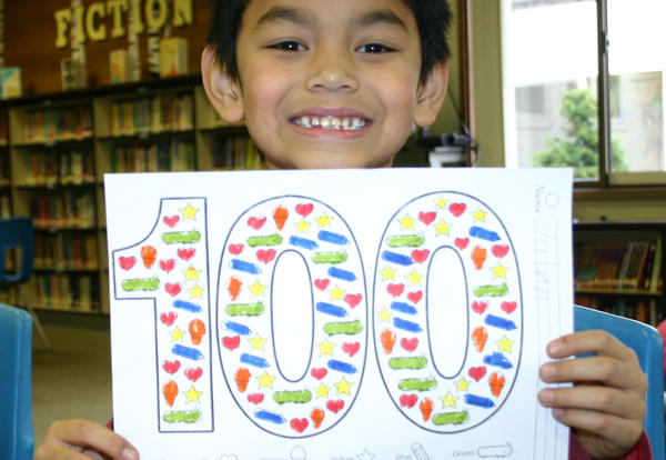 Custer Celebrates the 100th Day of School