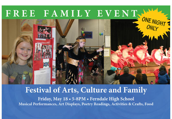SAVE THE DATE—Festival of Arts, Culture & Family