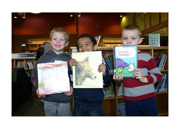 A Visit to the Library Builds Enthusiasm for Reading