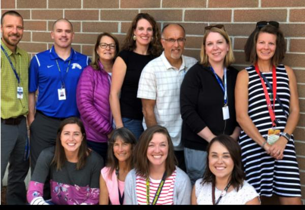 Ferendale school counselors group picture