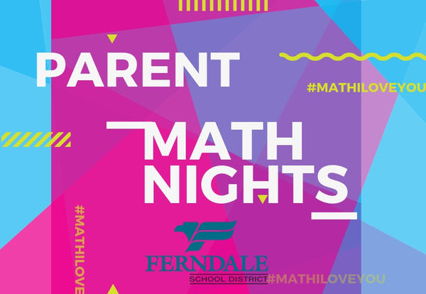 Parent Math Nights Graphic