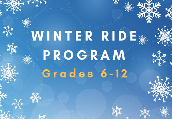 Winter Ride Program Grades 6-12 Graphic