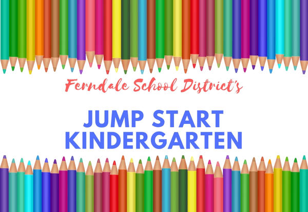 Ferndale Schools Jump Start Kindergarten Graphic