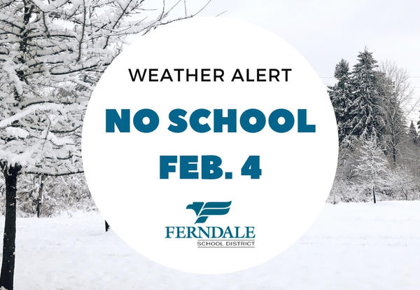 No School Feb. 4 Graphic