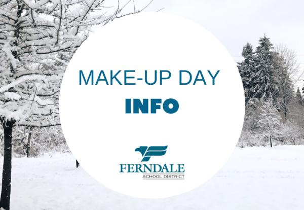 Snow Make-Up Day Information