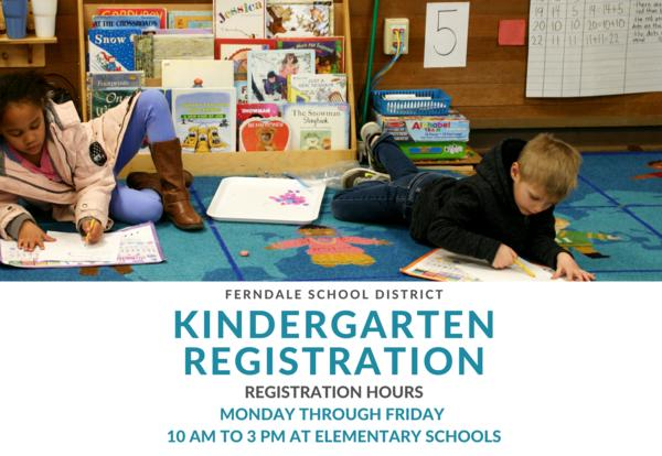 Kingdergarten Registration infographic