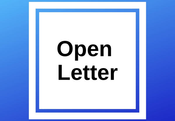Open Letter text