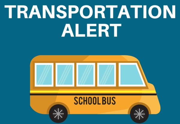 Ferndale Transportation Alert Graphic