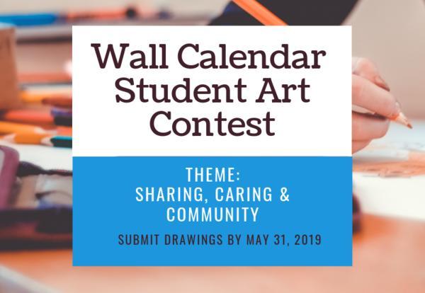 Wall Calendar Art Contest Graphic