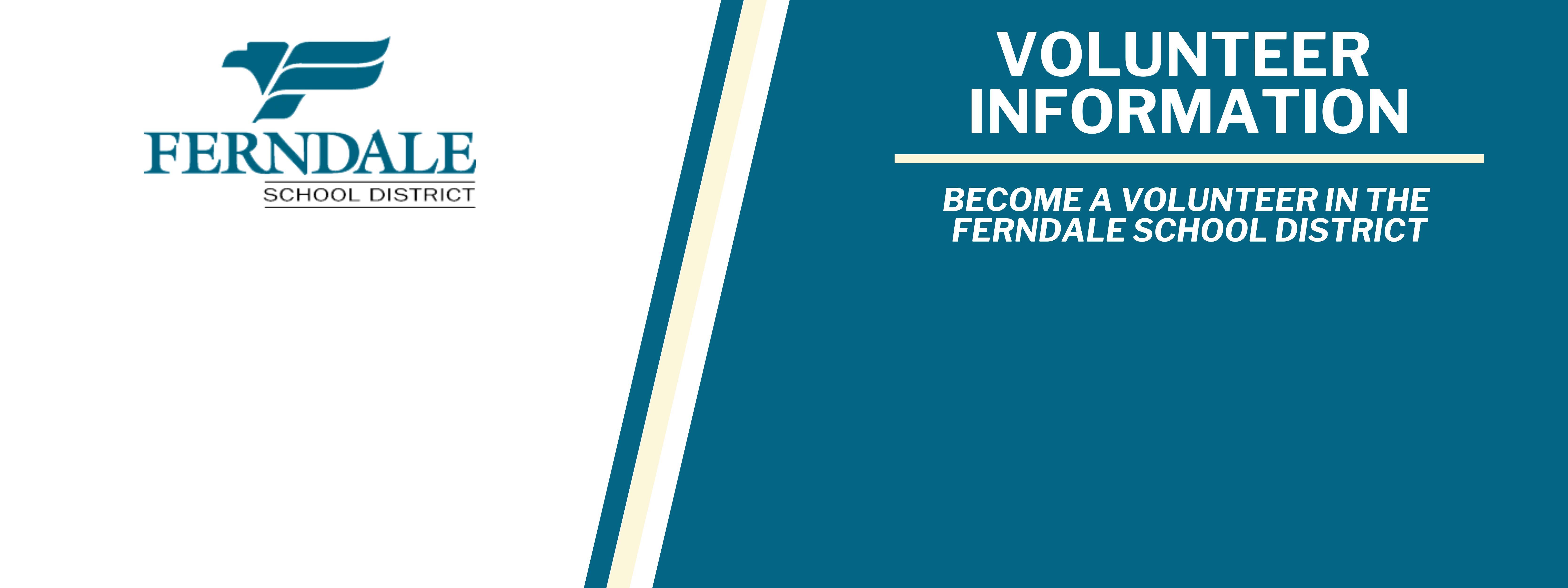 Volunteer Information Graphic