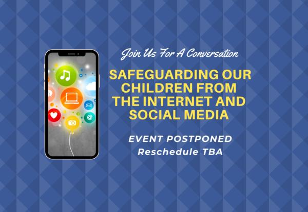 Safeguarding our children from the internet and social media infographic
