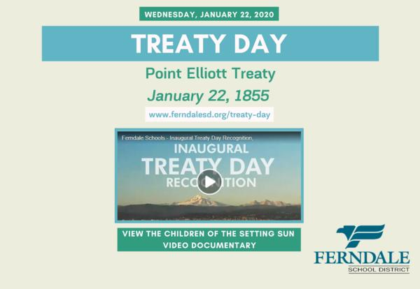 Reminder: No School on Wednesday, January 22 in Observance of Treaty Day