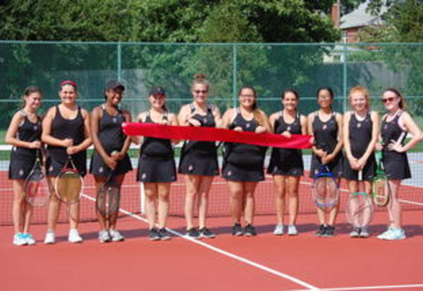 New Tennis Courts for DPHS Tennis Team