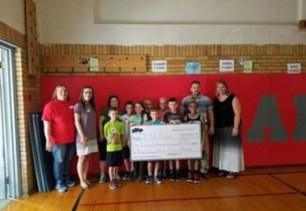 ICYMI Amity Elementary receives award for fundraising efforts