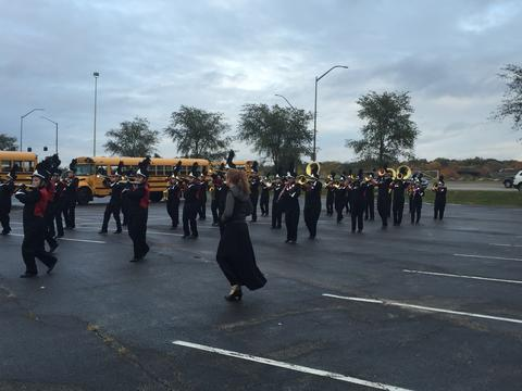 OMEA State Marching Band Finals 05