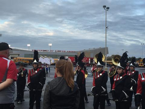 OMEA State Marching Band Finals 10