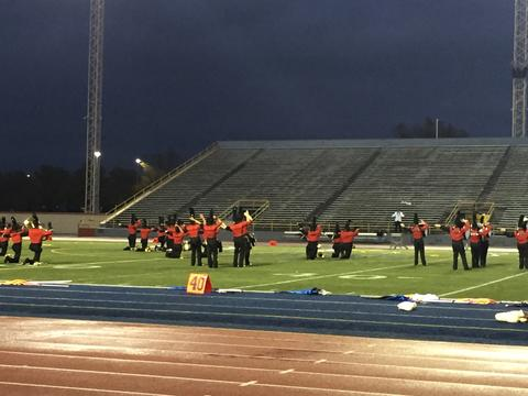 OMEA State Marching Band Finals 13