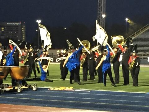 OMEA State Marching Band Finals 14