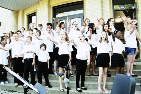 Student musical performance