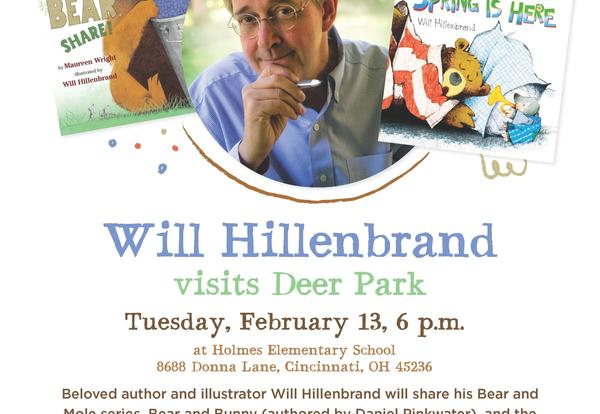TODAY: Will Hillenbrand Visits Deer Park Feb. 13, 6 p.m.