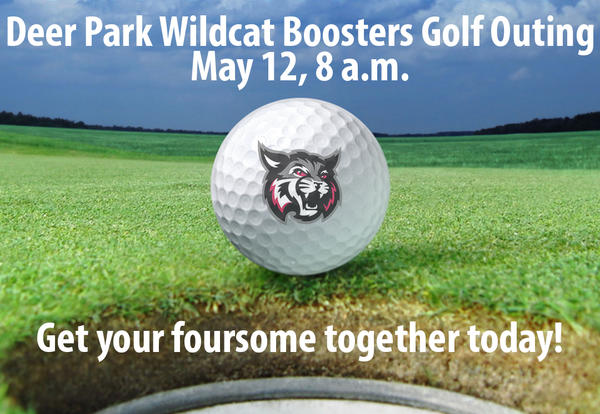 Register Today! 21st Annual Deer Park Athletic Boosters & PTO Golf Scramble