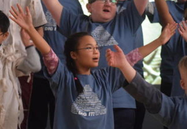 Cove Students Amaze at Elementary Showcase