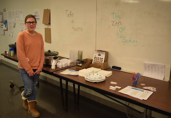Cove Senior Cooks Up Zen Social Media Campaign