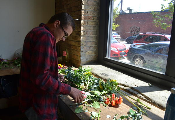 Cove Student's Future Blossoms at Flowers for Dreams