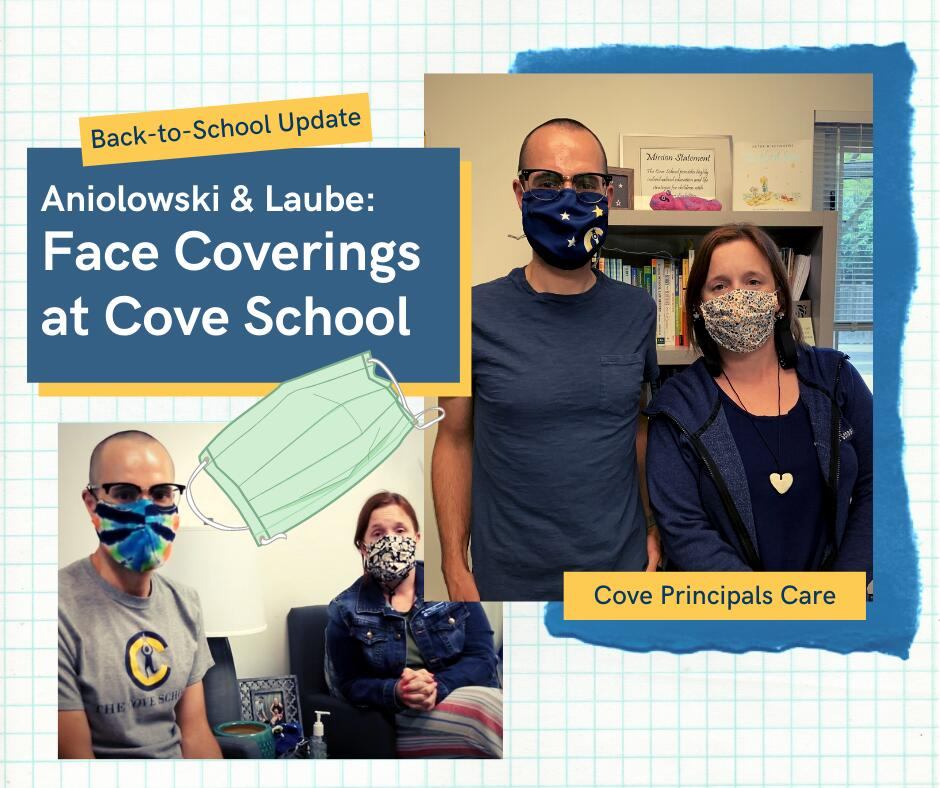 Face Coverings at Cove School