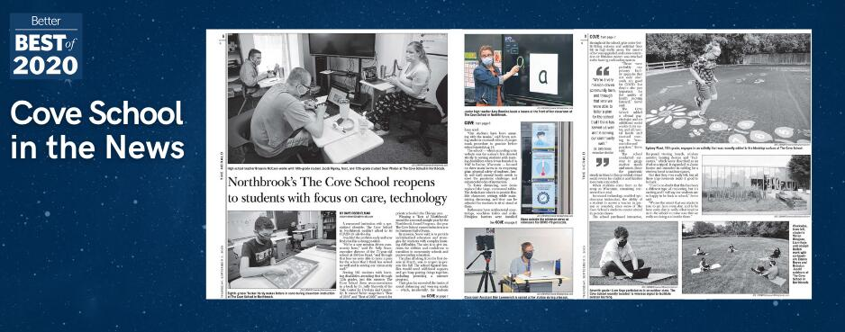 The Cove School in the news