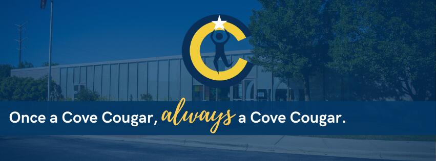 Once a Cove Cougar, always a Cove Cougar banner